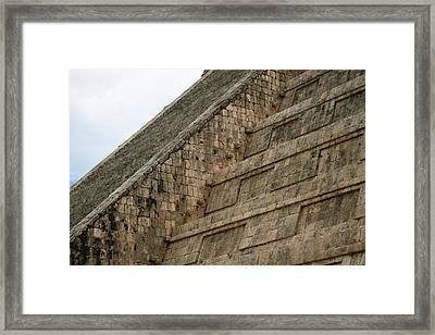 Framed Print featuring the photograph Chichen Itza by Silvia Bruno