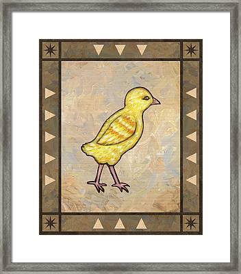 Chick One Framed Print by Linda Mears
