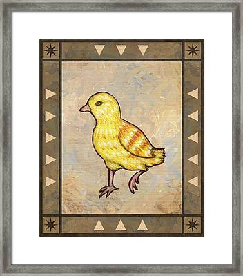Chick Two Framed Print by Linda Mears