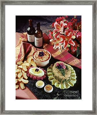 Chicken And Veal Pate Framed Print by Craig Lovell