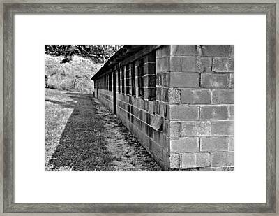 Chicken Barn Framed Print by Stephanie Grooms