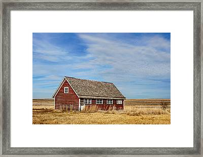 Chicken Coop - 2 Framed Print by Nikolyn McDonald