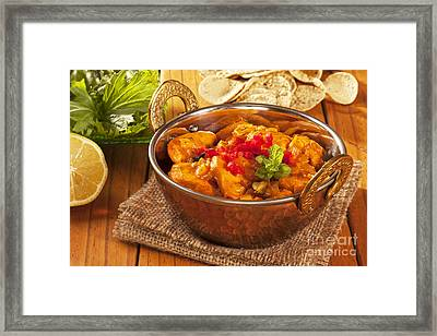 Chicken Curry Framed Print
