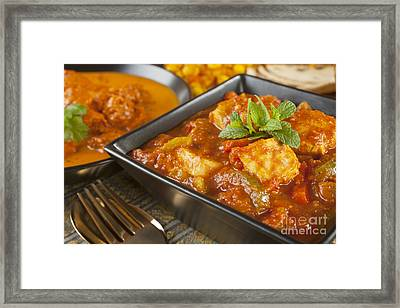 Chicken Jalfrezi Curry Framed Print by Colin and Linda McKie