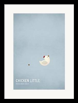 Chicken Art Framed Prints