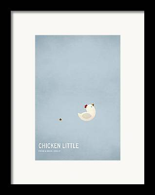 Chicken Framed Prints