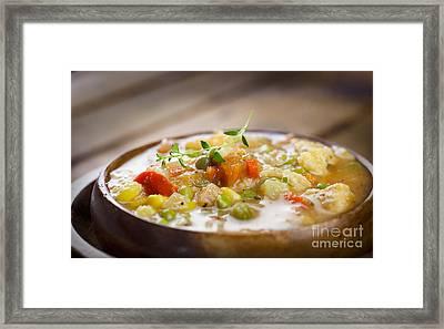 Chicken Stew Framed Print