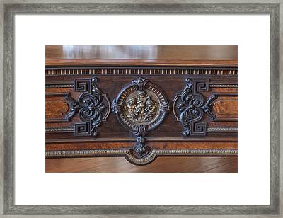 Chickering And Sons Piano Framed Print by Rich Franco