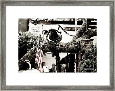 Framed Print featuring the photograph Chick's Beach Marina by Angela DeFrias