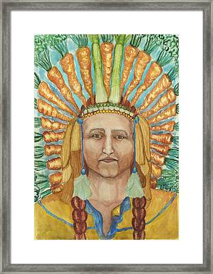 Chief 24 Carrots Framed Print