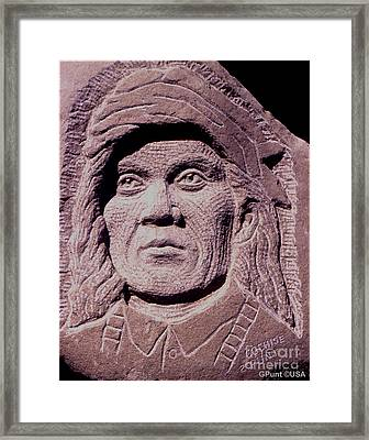 Chief-cochise-2 Framed Print by Gordon Punt