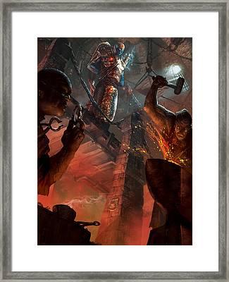 Chief Engineer Promo Framed Print