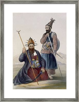 Chief Executioner And Assistant Of His Framed Print by James Rattray