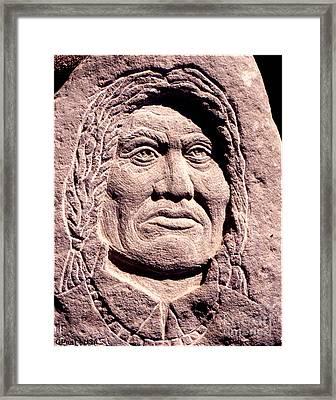 Chief-gall Framed Print by Gordon Punt