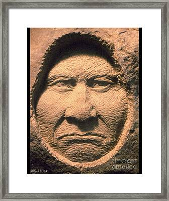 Chief-geronimo Framed Print by Gordon Punt