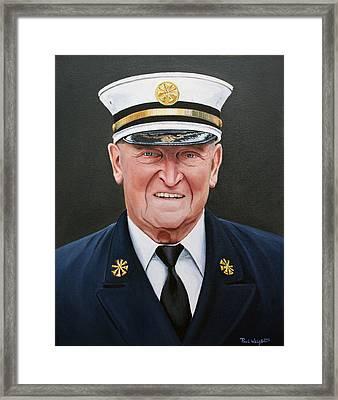 Chief Haber Framed Print