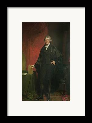 Chief Justice Framed Prints