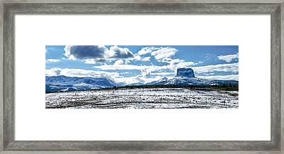 Chief Of The Mountains Framed Print