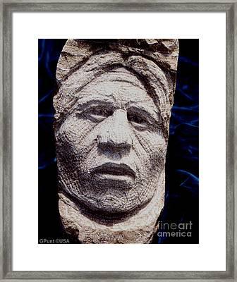 Chief-santana Framed Print by Gordon Punt