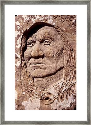 Chief-washakie Framed Print by Gordon Punt