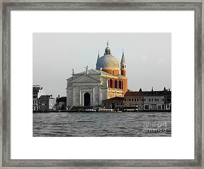 Chiesa Del Santissimo Redentore Framed Print