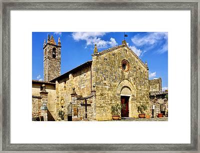 Framed Print featuring the photograph Chiesa Di Santa Maria Assunta by Fabrizio Troiani