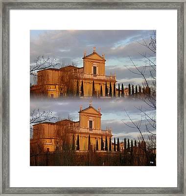 Chiesa Radopiata Framed Print by Halina Nechyporuk
