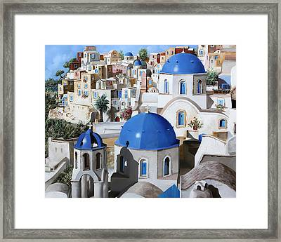 Chiese Ortodosse Framed Print by Guido Borelli