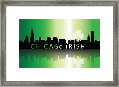 Chigago Irish Framed Print by Ireland Calling