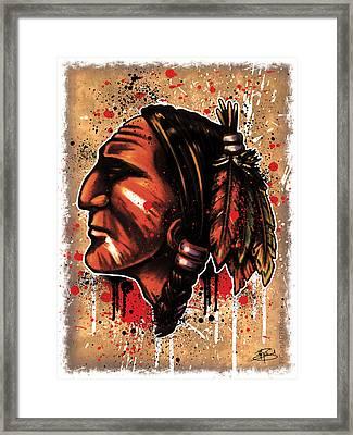 Chihawk Framed Print by Michael Figueroa