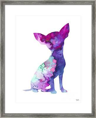 Chihuahua 7 Framed Print by Luke and Slavi