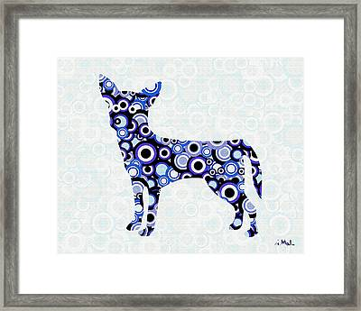 Chihuahua - Animal Art Framed Print by Anastasiya Malakhova