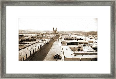 Chihuahua From The Casa De Moneda, Jackson, William Henry Framed Print by Litz Collection