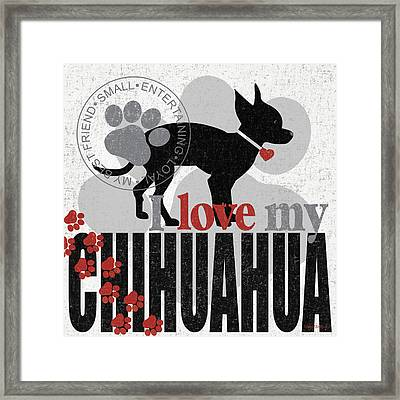Chihuahua Framed Print by Kathy Middlebrook