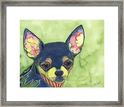 Chihuahua Framed Print by Greg and Linda Halom