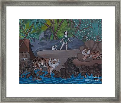 Chihuahua Safari Framed Print by Anthony Morris