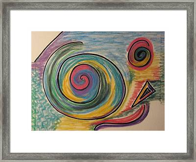 Chihuchahu Dog Framed Print by Lois Picasso