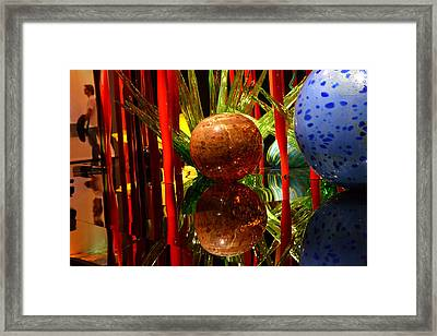 Chihuly-10 Framed Print by Dean Ferreira