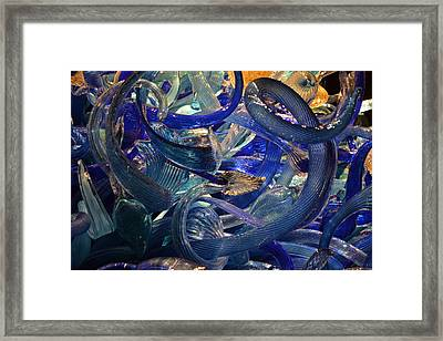 Chihuly-2 Framed Print by Dean Ferreira