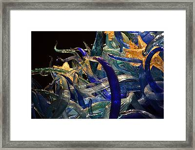 Chihuly-3 Framed Print by Dean Ferreira