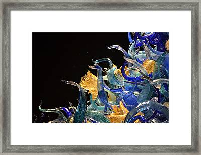 Chihuly-4 Framed Print by Dean Ferreira