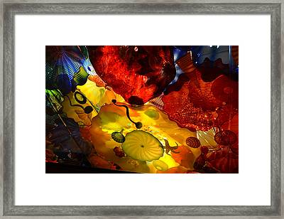 Chihuly-5 Framed Print by Dean Ferreira