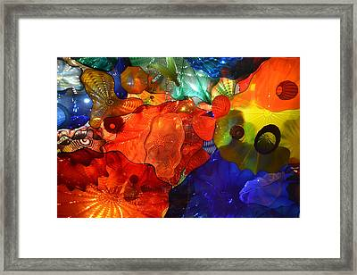 Chihuly-8 Framed Print by Dean Ferreira