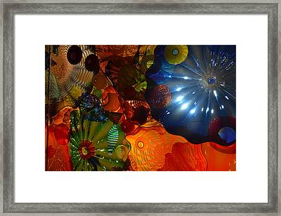 Chihuly-9 Framed Print by Dean Ferreira