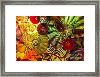 Chihuly Glass 3 Framed Print