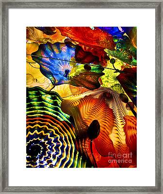 Chihuly Persian Ceiling Framed Print