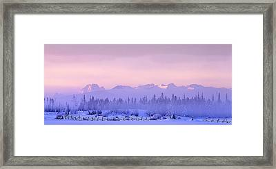 Chilcotin Morning Framed Print by Thomas Born