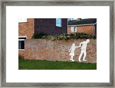 Child Abduction Framed Print