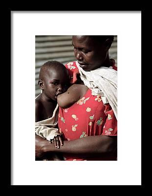 Uganda Framed Prints