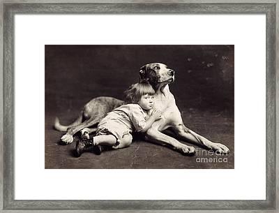 Child C1900 Framed Print by Granger